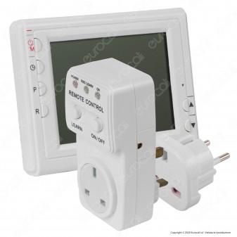 Ener-J Cronotermostato con Display e Ricevitore Wireless a Radiofrequenza per Pannelli a Infrarossi - mod. IH1026