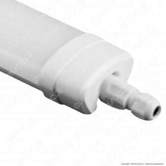 Sure Energy Tubo LED Plafoniera 36W Lampadina 120cm Impermeabile IP65 - mod. T195 / T194