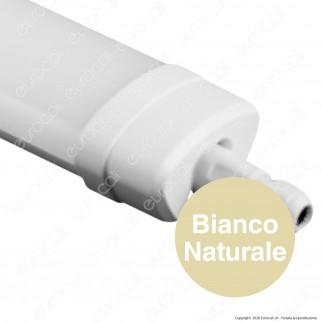 Sure Energy Tubo LED Plafoniera 45W Lampadina 150cm Impermeabile IP65 - mod. T197 / T196