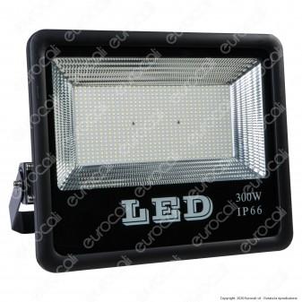 Sure Energy Faro LED SMD 300W da Esterno IP66 in Alluminio Colore Nero - mod. T214 [TERMINATO]