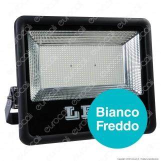 Sure Energy Faro LED SMD 300W da Esterno IP66 in Alluminio Colore Nero - mod. T214