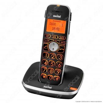 Switel D100 Vita Comfort Telefono Cordless per Portatori di Apparecchi Acustici