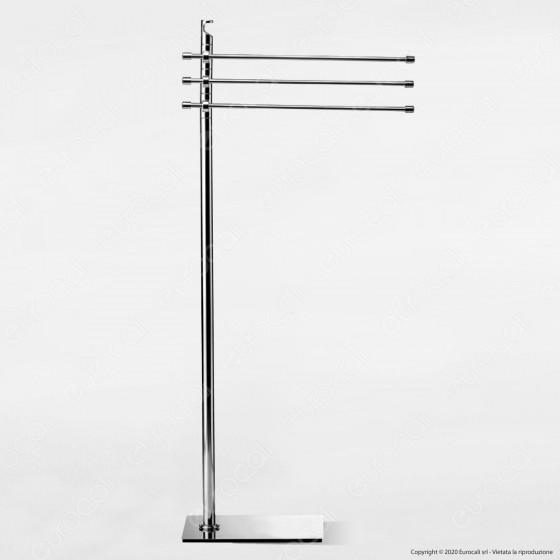 Piantana in Metallo Porta Asciugamani - PT17