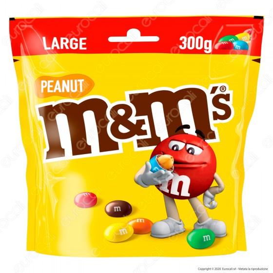 M&M's Peanut Confetti con Arachidi Ricoperte di Cioccolato - Busta da 300g
