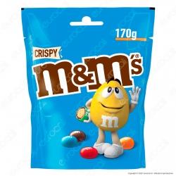 M&M's Crispy Confetti con Cereali Ricoperti di Cioccolato - Busta da 170g