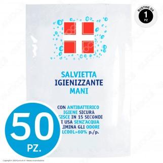IgieniBox Hospital con Mascherine FFP2 Gel Alcolico Igienizzante Mani Salviette con Antibatterico e Guanti Taglia M