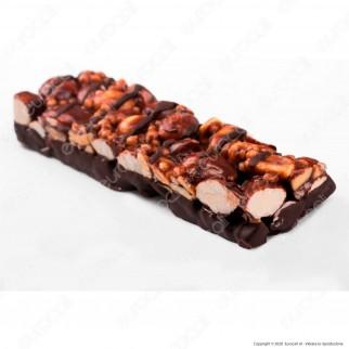 Be-Kind Protein Snack con Doppio Cioccolato Fondente, Frutta Secca e Sale Marino - 1 Barretta da 50g