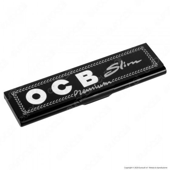 Ocb Portacartine Lunghe Slim Premium in Metallo