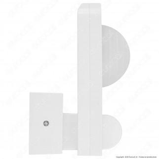 V-Tac VT-8083 Sensore di Movimento a Infrarossi IP65 per Lampadine LED Colore Bianco - SKU 1500