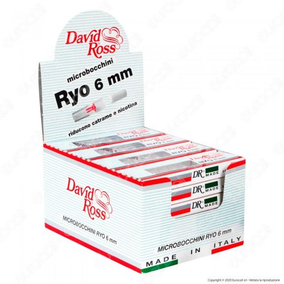 David Ross Microbocchini Ryo 6mm - Box 24 Blister da 10