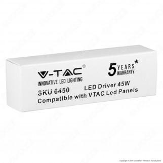 V-Tac Driver per Pannelli LED 45W - SKU 6450