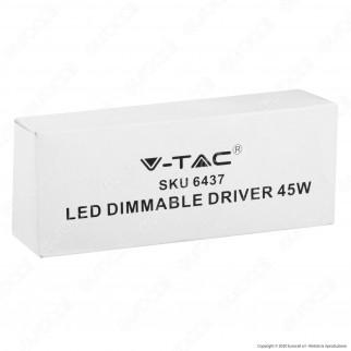 V-Tac Driver Dimmerabile 0-10V per Pannelli LED 45W - SKU 6437