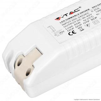 V-Tac Driver Dimmerabile per Pannelli LED 45W - SKU 6269