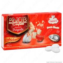Confetti Crispo Snob con Mandorle Tostate Gusto Fragola - Confezione 500g