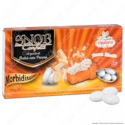Confetti Crispo Snob con Mandorle Tostate Gusto Babà con Panna - Confezione 500g