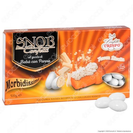 Confetti Crispo Snob con Mandorle Tostate Gusto Babà e Panna - Confezione 500g