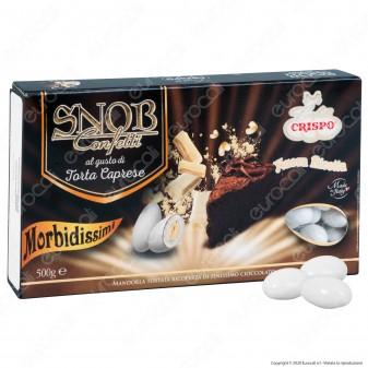 Confetti Crispo Snob con Mandorle Tostate Gusto Torta Caprese - Confezione 500g
