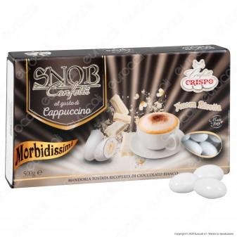 Confetti Crispo Snob con Mandorle Tostate Gusto Cappuccino - Confezione 500g