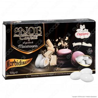 Confetti Crispo Snob con Mandorle Tostate Gusto Macaroons Cioccolato - Confezione 500g