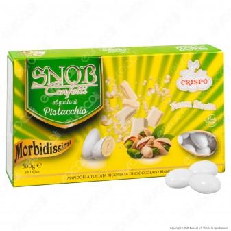 Confetti Crispo Snob con Mandorle Tostate Gusto Pistacchio - Confezione 500g