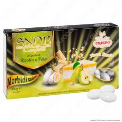 Confetti Crispo Snob con Mandorle Tostate Gusto Ricotta e Pera - Confezione 500g