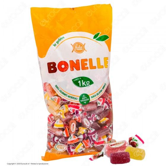 Caramelle Bonelle Le Gelées ai Gusti Frutta Senza Glutine 100% Vegane - Busta 1000g