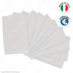 10 Filtri in TNT 3 Strati di Ricambio Compatibili con Mascherina Filtrante Professionale in Plastica Pluriuso