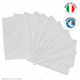 10 Filtri in TNT 3 Strati di Ricambio Compatibili con Mascherina Filtrante Rigida in Plastica Pluriuso