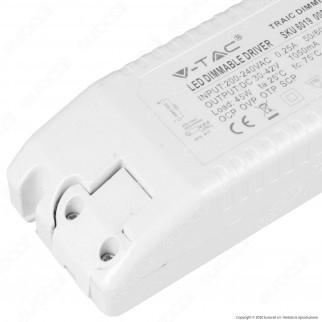 V-Tac Driver Dimmerabile per Pannelli LED 45W - SKU 6019