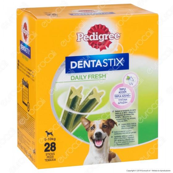 Pedigree Dentastix Fresh Small per l'igiene orale del cane - Confezione da 28 Stick