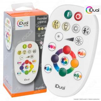 iDual Remote Control Telecomando per i Sistemi iDual Multifunzione RGB+W - mod. JE0001140