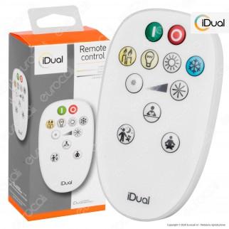 iDual Remote Control Telecomando per i Sistemi iDual Whites Multifunzione Changing Color - mod. JE0001130