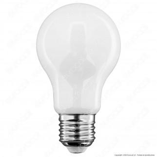 iDual Lampadina LED E27 Filament 9W Bulb A60 Changing Color Dimmerabile in Vetro Bianco - mod. JE0126130