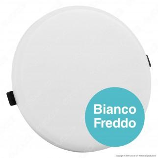 V-Tac PRO VT-620RD Pannello LED Rotondo 20W SMD da Incasso con Driver con Chip Samsung - SKU 614 / 615 / 616