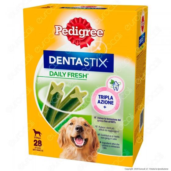 Pedigree Dentastix Fresh Large per l'igiene orale del cane - Confezione da 28 Stick