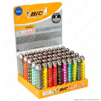 Bic Maxi J26 Grande Fantasia I Need - Box da 50 Accendini