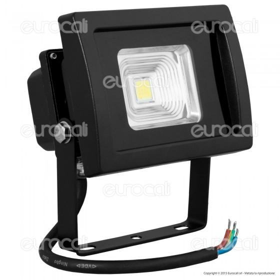 V-Tac VT-4710 Faretto LED 10W da Esterno Colore Nero