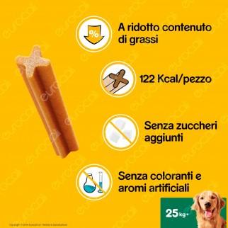 Pedigree Dentastix Large per l'igiene orale del cane - Confezione da 105 Stick