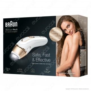 Braun Silk-Expert Pro 5 PL5014 Epilatore a Luce Pulsata IPL Epilazione Definitiva