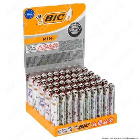 Bic Mini J25 Piccolo Fantasia Countries - Box da 50 Accendini