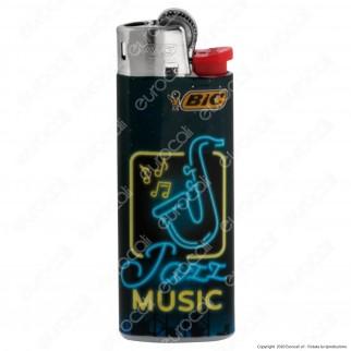 Bic Mini J25 Piccolo Fantasia Neon Music - Box da 50 Accendini