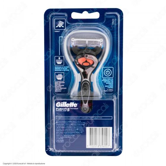 Gillette Fusion ProGlide Power Chrome Rasoio Da Uomo Con Tecnologia FlexBall