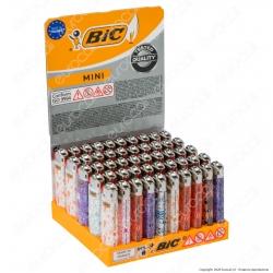 Bic Mini J25 Piccolo Fantasia Doodle Cats - Box da 50 Accendini