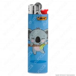 Bic Slim J23 Medio Fantasia Koala - 5 Accendini