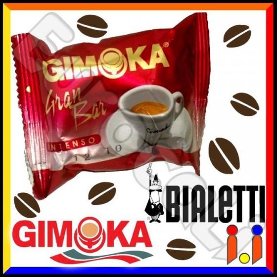 Cialde Caffè Gimoka Gran Bar Aroma Intenso Compatibili Mokona / Tazzona Bialetti - Box 30 Capsule