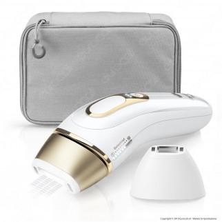 Braun Silk-expert Pro 5 PL5117 Epilatore Luce Pulsata Bianco E Oro Epilazione Definitiva