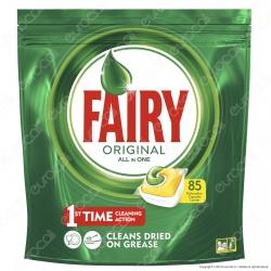 Fairy Original Detersivo in Caps per Lavastoviglie al Limone - Confezione da 85 pastiglie