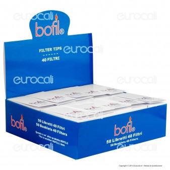 Bofil Filtri In Carta - Scatola da 50 Blocchetti
