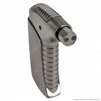 Cozy ARC Pipe Lighter Accendino USB Ricaricabile in Metallo con Arco al Plasma per Pipa Confezione Regalo