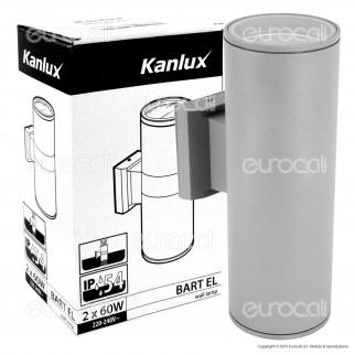 Kanlux BART EL-260 Portalampada Wall Light da Muro per Lampadine E27 - mod.7082